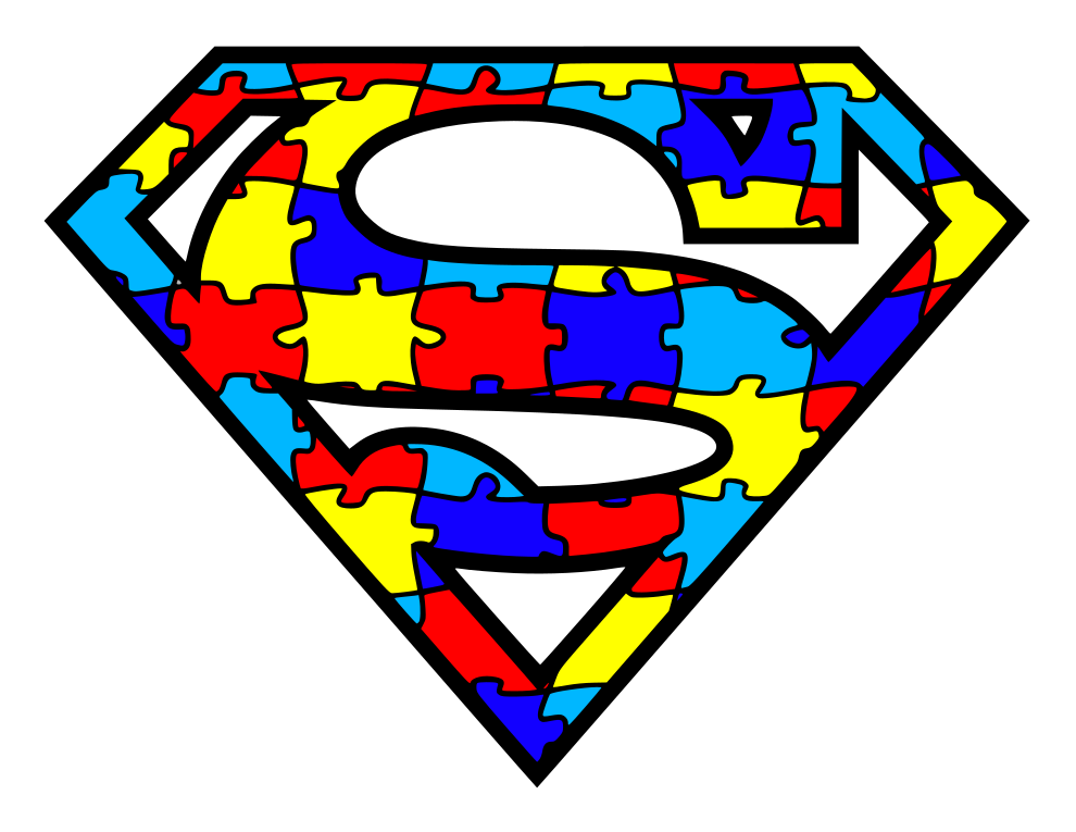 Autism Awareness - Superman Logo